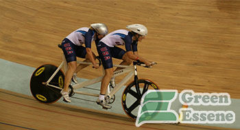 Tandem bicycle sprint